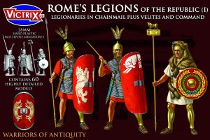 VICTRIX ROME'S LEGIONS OF THE REPUBLIC (I) MAIL ARMOUR