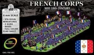 FRENCH CORPS (mid-19th century)