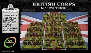 BRITISH CORPS (mid-19th century)