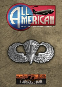 ALL AMERICAN (MW PARATROOPER BOOK AND CARDS)