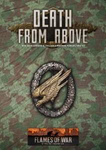 ARMY BOOK - DEATH FROM ABOVE (MW FALLSCHRIMJAGER BOOK AND CARDS)