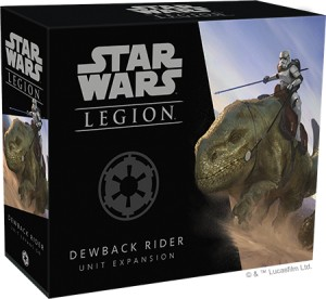 STAR WARS LEGION: DEWBACK RIDER UNIT EXPANSION