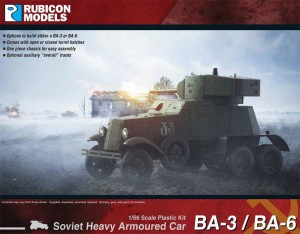 BA-3/BA-6 SOVIET HEAVY ARMOURED CAR