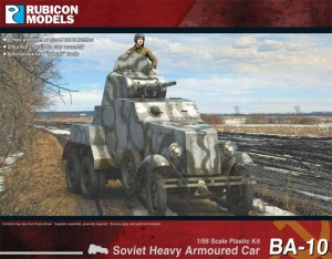 BA-10 SOVIET HEAVY ARMOURED CAR