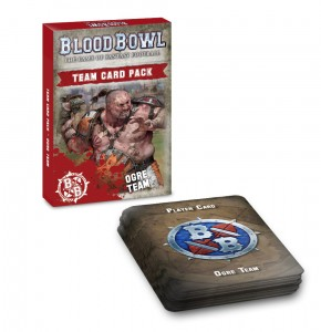 BLOOD BOWL: OGRE TEAM CARD PACK (ENG) [OOP]