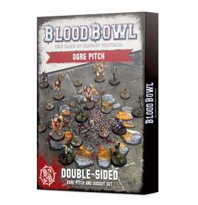 BLOOD BOWL: OGRE TEAM PITCH & DUGOUTS [OOP]