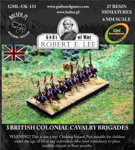 3 BRITISH COLONIAL CAVALRY BRIGADES