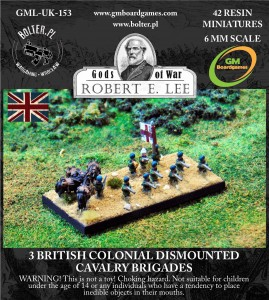 3 BRITISH COLONIAL DISMOUNTED CAVALRY BRIGADES
