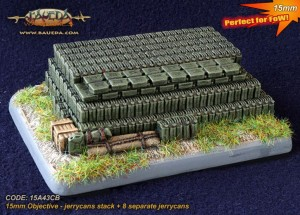 15MM OBJECTIVE JERRYCANS STACK + SMALL BASE