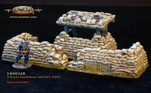 28MM SANDBAG SENTRY POST