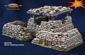 28MM SANDBAG BUNKER
