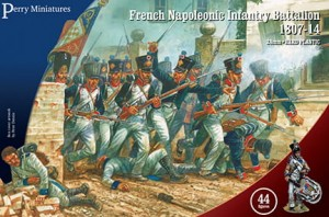 FRENCH NAPOLEONIC INFANTRY BATTALION 1807-1814