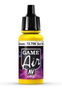 GAME AIR 72706 SUNBLAST YELLOW