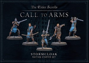 ELDER SCROLLS: STORMCLOAK PLASTIC FACTION STARTER (BOX OF 5)