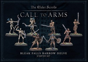 ELDER SCROLLS BLEAK FALLS BARROW PLASTIC DELVE SET (BOX OF 8)