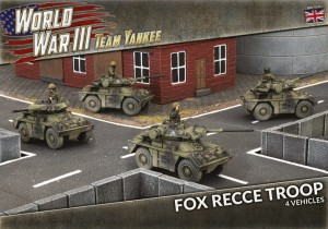 FOX RECCE TROOP (X4 PLASTIC)