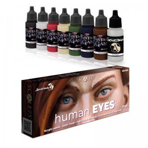SCALE 75 PAINT SET - HUMAN EYES
