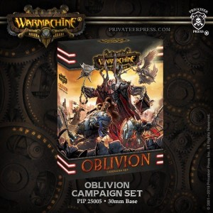 WARMACHINE: OBLIVION CAMPAIGN SET