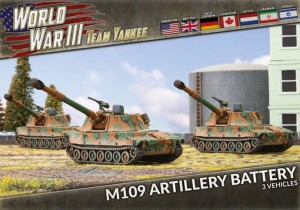 M109 FIELD ARTILLERY BATTERY (X3 PLASTIC)