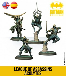 LEAGUE OF ASSASSINS ACOLYTES