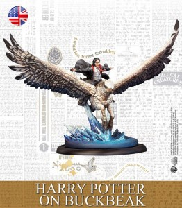 HARRY POTTER ON BUCKBEAK