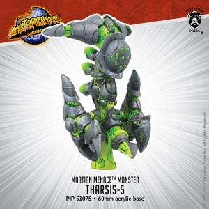 MONPOC MARTIAN MENACE MONSTER THARSIS 5
