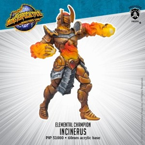 MONPOC ELEMENTAL CHAMPIONS MONSTER INCINERUS