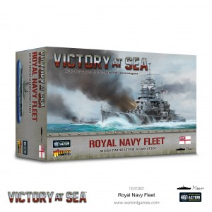 Victory at Sea - ROYAL NAVY FLEET BOX