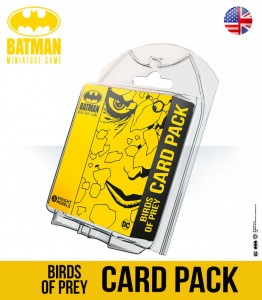 BIRDS OF PREY CARD PACK