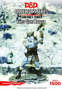Frost Giant Ravager: D&D Collector's Series