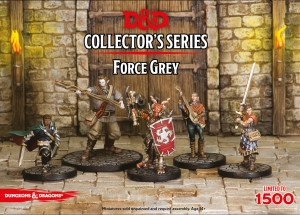 Force Grey (5 Figures): D&D Collector's Series