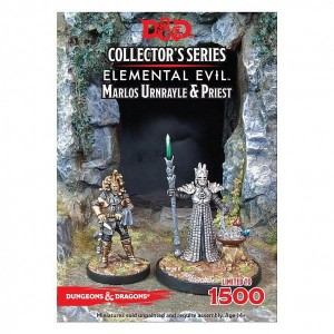 Marlos Urnrayle & Earth Priest: D&D Collector's Series