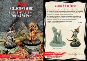 Vanifer & Fire Priest: D&D Collector's Series