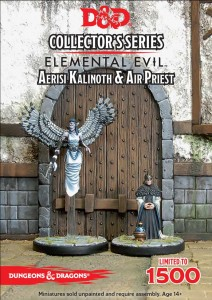 Aerisi Kalinoth & Air Priest: D&D Collector's Series