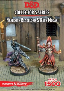 Naergoth Bladelord & Rath Modar D&D Collector's Series