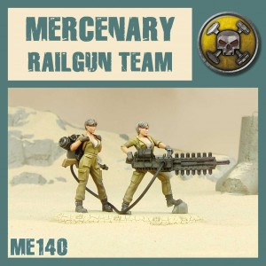 Mercenary Railgun Duo