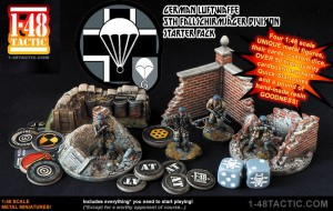 German Luftwaffe 5th Fallschirmjager Division starter set