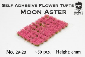 MOON ASTER FLOWERS 6MM