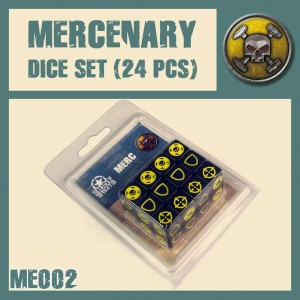 DUST Mercenary Dice Set
