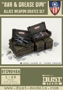 """Bar and Grease Gun Pack"" Allied Weapon Crates Set"