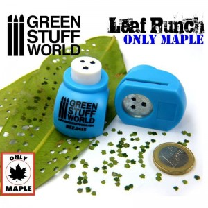 Miniature Leaf Punch MEDIUM BLUE