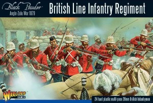British Line Infantry Regiment (Anloe-Zulu War)