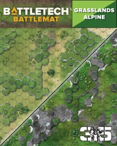BattleTech BattleMat Grasslands Alpine