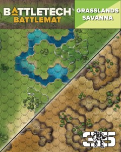 BattleTech BattleMat Grasslands Savanna