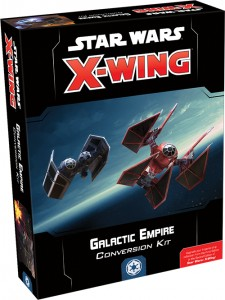 STAR WARS: X-WING - GALACTIC EMPIRE CONVERSION KIT - ZESTAW KONWERTUJĄCY EN