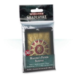 WH UNDERWORLDS: MAGORE'S FIENDS SLEEVES