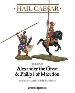ALEXANDER THE GREAT & PHILIP I OF MACEDON [MADE TO ORDER]