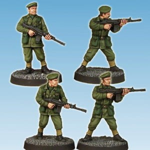ARMY PRIVATES – RIFLES (4)