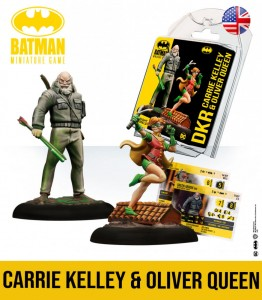 Oliver Queen & Carrie Kelley