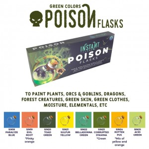 SCALE75 INSTANT Colors Set - Poison Flasks